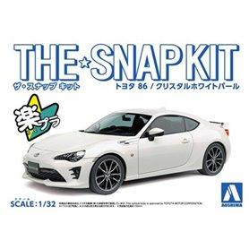 Aoshima 05418 1/32 Toyota '86 - White SNAPKIT