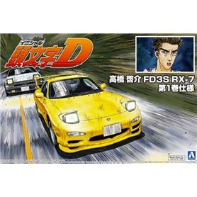 Aoshima 05621 1/24 Akahashi Keisuke FD3S RX-7