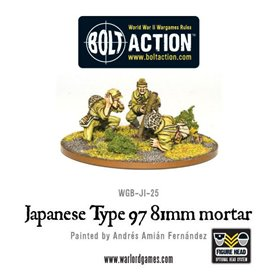 Bolt Action Imperial Japanese 81mm Mortar