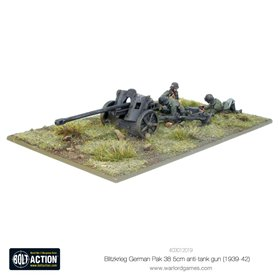 Bolt Action Blitzkrieg GermanPak 38 5cm Anti-Tank Gun (1941-42)