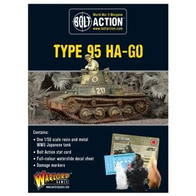 Bolt Action Japanese Type 95 Ha-Go light tank (Splash Release)Japanese Type 95 Ha-Go light tank (Splash Release)