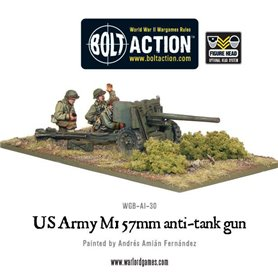 Bolt Action US Army 57mm Anti-Tank Team