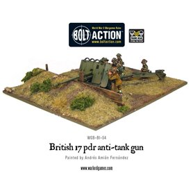 Bolt Action British Army 17 pdr Anti-tank Gun