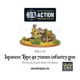 Bolt Action Imperial Japanese Type 92 70mm Infantry Gun