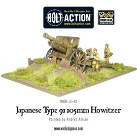 Bolt Action Imperial Japanese Type 91 105mm Howitzer