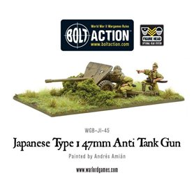 Bolt Action Imperial Japanese Type 47mm Anti Tank Gun