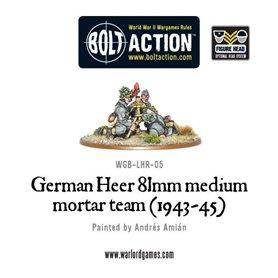 Bolt Action German Heer 81mm Medium Mortar