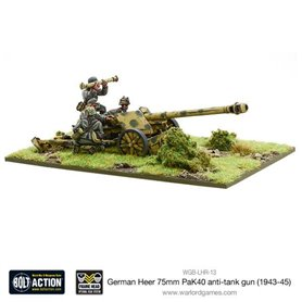 Bolt Action German Heer PaK 40