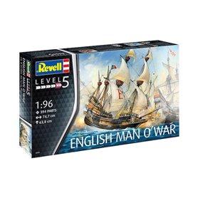 Revell 05429 Statek 1/96 English Man O'War