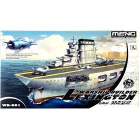 Meng WARSHIP BUILDER USS Lexington