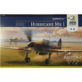 Arma Hobby 1:72 Hawker Hurricane Mk.I - EXPERT SET