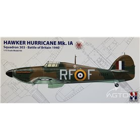 Hobby 2000 1:72 Hawker Hurricane Mk. IA - DYWIZJON 303 BITWA O ANGLIĘ 1940