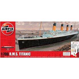 Airfix 1:700 RMS Titanic - GIFT SET - z farbami