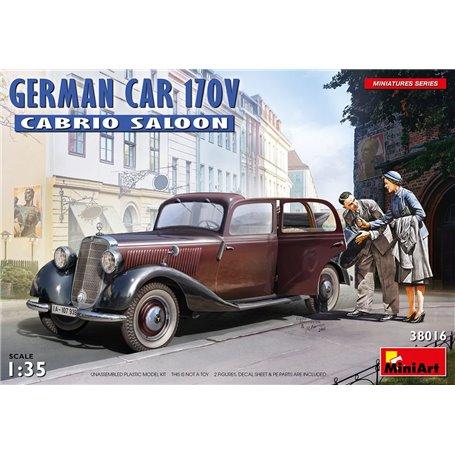 Mini Art 38016 German car 170V Cabrio saloon