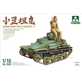 Takom 1009 Chinese Army Type 94 Tankette