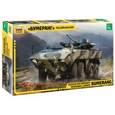 Zvezda 1:35 Bumerang - RUSSIAN 8X8 ARMORED PERSONNEL CARRIER