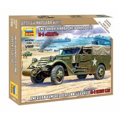 Zvezda 6245 1/100 M-3 Scout Car