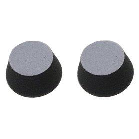 Proxxon Gąbka polerująca Proxxon do szlifierki WP/E i WP/A [2 szt.] miękka, czarna