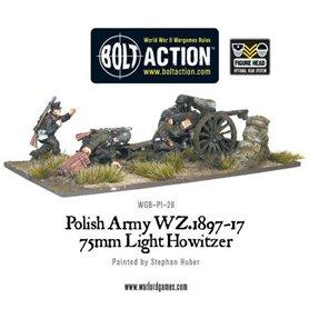 Bolt Action Polish Army 75mm Light Artillery
