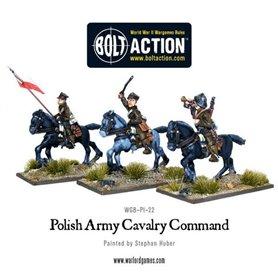 Bolt Action Polish Army Cavalry Command