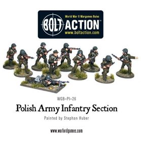 Bolt Action Polish Army Infantry Section