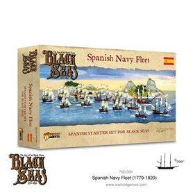 Black Seas SPANISH NAVY FLEET - 1770-1830