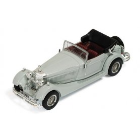 IXO Museum 1:43 Mercedes SS 1933 (grey with bordeaux interiors)