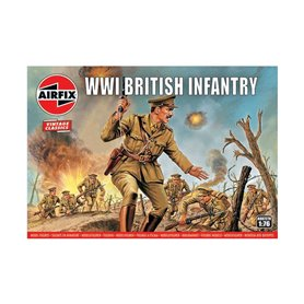 Airfix VINTAGE CLASSICS 1:76 WWI FRENCH INFANTRY