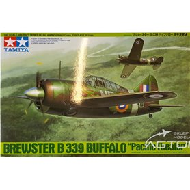 Tamiya 1:48 Brewster B-339 Buffalo Pacific Theater