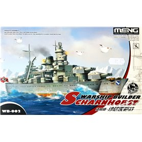 Meng WARSHIP BUILDER Scharnhorst