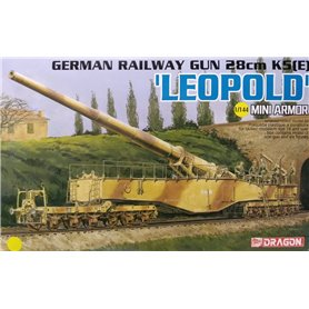 Dragon 14131 German 28cm KS (E) Leopold 1/144