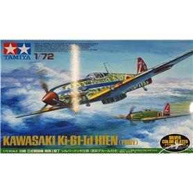 Tamiya 1:72 Kawasaki Ki-61-Id Hien - SILVER PLATED - z kalkomaniami kamuflażu
