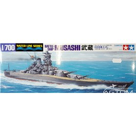 Tamiya 1:700 IJN Musashi - JAPANESE BATTLESHIP
