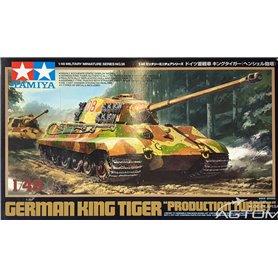 Tamiya 1:48 Pz.Kpfw.VI King Tiger - PRODUCTION HENSCHEL TURRET