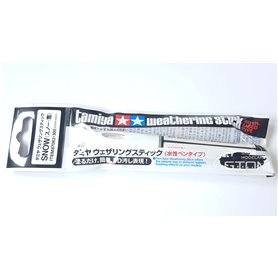 Tamiya 87082 WEATHERING STICK - pisak do weatheringu - SNOW