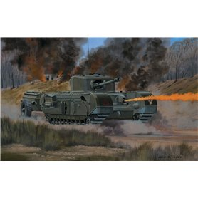 Airfix VINTAGE CLASSICS 1:76 Churchill Crocodile