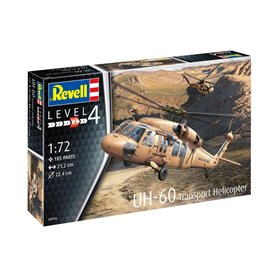 Revell 04976 Helikopter 1/72 UH-60 Transport Helic
