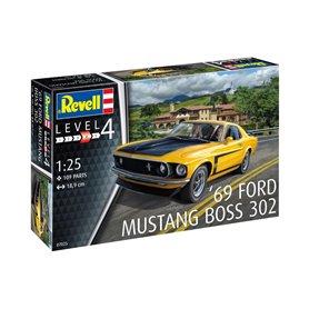 Revell 1:25 Ford 1969 Mustang Boss 302