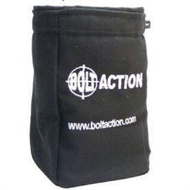 Bolt Action DICE BAG AND ORDER DICE - BLACK