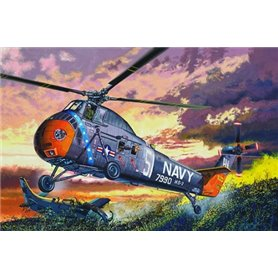 Trumpeter 02882 H-34 US Navy Rescue - re-edition
