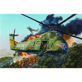 Trumpeter 1:48 H-34 - US MARINES RESCUE HELICOPTER - RE-EDITION