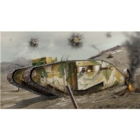 Airfix 02337V WWI Female Tank 1/76