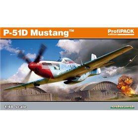 Eduard 1:48 North American P-51D Mustang - ProfiPACK