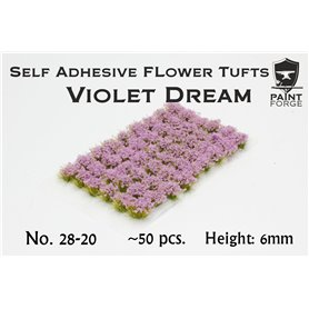 Paint Forge Kępki kwiatów VIOLET DREAM FLOWERS – 6mm