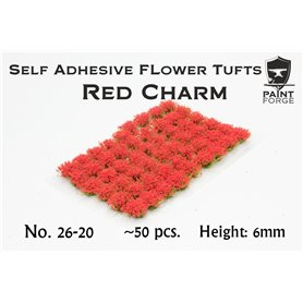 Paint Forge Kępki kwiatów RED CHARM FLOWERS – 6mm