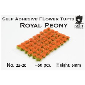 Paint Forge Kępki kwiatów ROYAL PEONY FLOWERS – 6mm