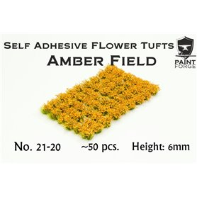 Paint Forge Kępki kwiatów AMBER FIELD FLOWERS – 6mm