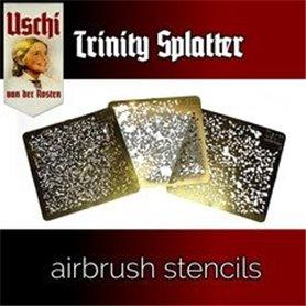 Uschi van der Rosten Trinity Splatter Stencil