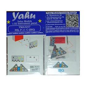 Yahu Models 1:32 PZL P.11C (IBG)