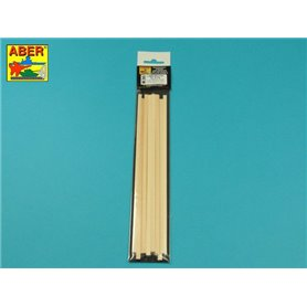 Aber WL2x5 Listwy drewniane z lipy 2x4 x245 x12 szt
